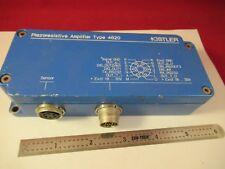 KISTLER CHARGE AMPLIFIER 4620 PIEZORESISTIVE SENSOR  #H1-B-13