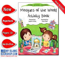 Mosques of the World Activity Book Muslim Children Islamic Kids Best Gift Ideas