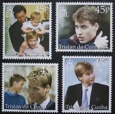 18th Anniversaire du Prince William timbres, 2000, Tristan Da Cunha, SG Réf: 683-686