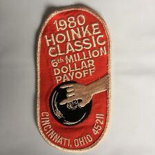 1980 Hoinke Classic 6th Million Dollar Payoff Cincinnati  45211 Bowling Patch