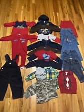 12 & 12-18 Months Baby Boy Fall Winter Clothes Lot