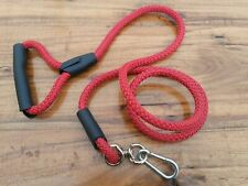 5 Ft Nylon Dog Leash Extra Strong Heavy Duty Training Slip Pet Rope Lead Red