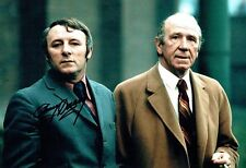 Tommy DOCHERTY SIGNED Autograph 12x8 Photo with Sir Matt Busby AFTAL COA