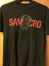 Samcro.   $(Sons Of Anarchy).   Shirt.  Black.  XL