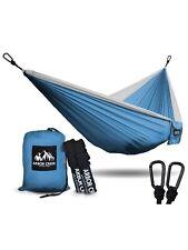 XL Double Camping Hammock - Heavy Duty and Ultralight Nylon Travel Hammock