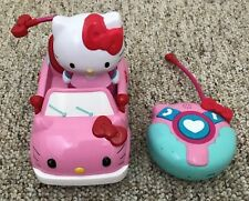 Hello Kitty RC Car & Figure Remote Control Tested & Working Jada Toys