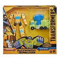 Transformers Buzzworthy Bumblebee Cyberverse Spark Armor Bumblebee Trash Crash