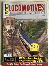 More details for modern locomotives illustrated n0.220 br southern region emus free post