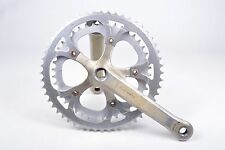 Vintage Gipiemme Azzurra Bicycle Crankset 170 mm Double 42/52T Road Bike Parts