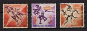 14539) GUINEE 1963 MNH** Olympic Games - Orange Overprint 3v