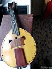 ANTIK Mandoline 12 Saiten Gebaut in Frankfurt um 1928 sehr guter Zustand!!!