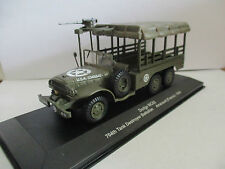véhicule militaire 1/43 : dodge wc63 - 704th tank bestroyer battalion - arracour