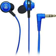 Audio-Technica ATH-COR150 Core Full Bass In-Ear Headphones Earbuds BLUE