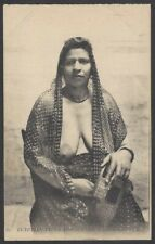Egypt Native Girl vintage postcard