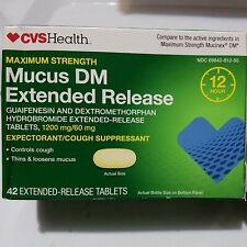 Cvs Mucus Extended Release maximum strength (12hour) 42 Tablets EXP 2021