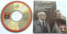 Rostropovich Cello Concerto Dvorak / Saint-Saens Giulini EMI (ASD 3452) Japan NM