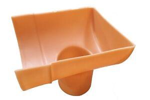 Industrial Gutter Stop End Drop LARGE For Sheds/Agricultural Sheds Guttering