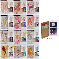 For OPPO Series - Zodiac Star Sign Theme Print Wallet Mobile Phone Case Cover #2