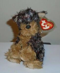 NMTT* Ty Beanie Baby - TYGER  the Yorkshire Yorkie Dog - MWMT (NM TUSH TAG)