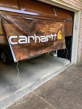 "Carhartt vinyl banner 36�x 84"" vintage sign New in box just like the picture"