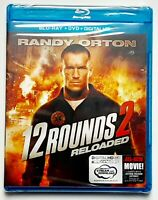 12 Rounds 2: Reloaded (Blu-ray Disc, 2013) Factory Sealed.
