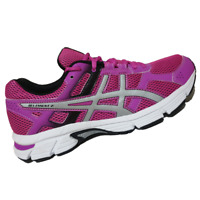 ASICS WOMENS Shoes Gel-Essent 2 - Pink Glow, Sliver & Black - T576N-3593