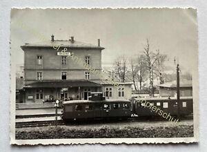 orig. Foto Wunsiedel Bahnhof