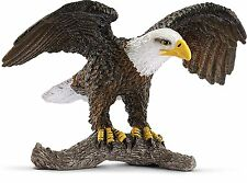 Schleich 14780 Bald Eagle Toy Figure, Brown, For Ages 3+