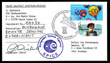 1983 LAUNCH COLUMBIA STS-9 - MICROWAVE REMOTE SENSING EXPER. - SIGNED (ESP#2846)