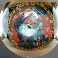 Harley Davidson Happy Harley Days Santa Christmas Bulb Ornament Made in the USA