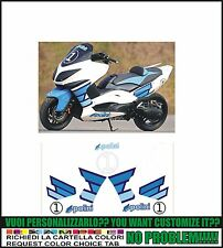 kit adesivi stickers compatibili tmax 2008 2011 polini