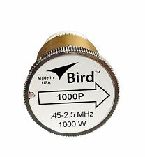 Bird 1000P Plug-in Element 0 to 1000 watts .45 to 2.5 MHz for Bird 43 Wattmeters