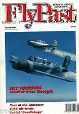 Flypast 1991 January T-34,Wittering,Sea Fury,Ercoupe