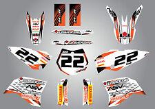 KTM  65 -  2009 - 2015 Full custom graphics Kit Storm Style