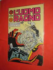 UOMO RAGNO-seconda 2°serie n° 6  -CORNO 1984 settimanale-spider-man