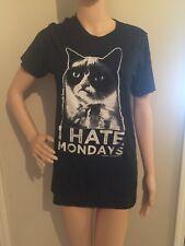 L gray I HATE MONDAYS GRUMPY CAT t-shirt by GRUMPY CAT