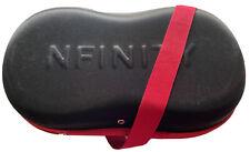Black Nfinity Infinity Vengeance Cheer Shoe Holder Case Bag Size 8.5 (No Shoes)