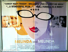 Cinema Poster: MELINDA AND MELINDA 2005 (QUAD) Will Ferrell Vinessa Shaw