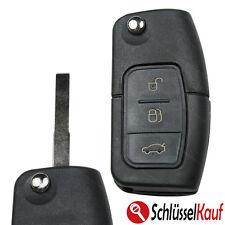 Ford Klappschlüssel Gehäuse Schlüsselrohling HU101 Ersatz Auto Fernbedienung Neu