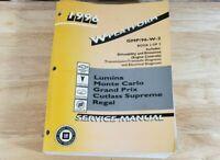1996 W Platform Service Manual GM Volume 2 Lumina M.Carlo G.Prix GMP/96-W-2