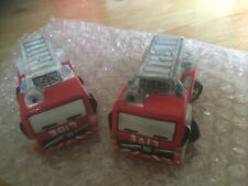 Salt & Pepper Pots/shakers, Fire Engines - Wicked Art - Excellent