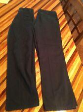 Lot Of 2 Chaps Navy Blue Dress Pants School Uniforms Size 14 Regular See De