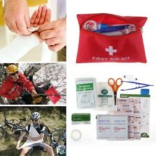35pcs Home Sports Travel Medical Emergency Survival FIRST AID KIT Bag Treatment
