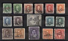 Iraq Irak 1932, K. Faisal I,Surch. Set to 1D, SG#106-21,VF-U Perfect cancel 5064