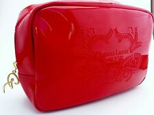 Christian Lacroix Rouge Makeup Bag by AVON in Vivid Red Vinyl