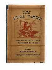 Vincent Starrett / Fatal Caress...and Other Accounts of English Signed 1st 1947