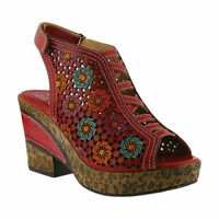L'Artiste by Spring Step Women's   Bewitched Open Toe Bootie