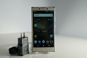 """READ""Sony Xperia L2 H3321 32GB 4G Smartphone Gold Factory Unlocked Fair"