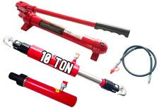 10 T hydraulique pompe à main + tirez RAM + RAM Jack Cylindre Porta Puissance