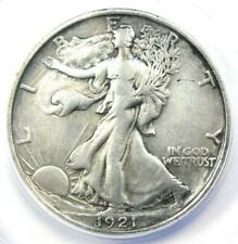 1921-D Walking Liberty Half Dollar 50C - Certified ANACS VF25 Detail - Rare Date